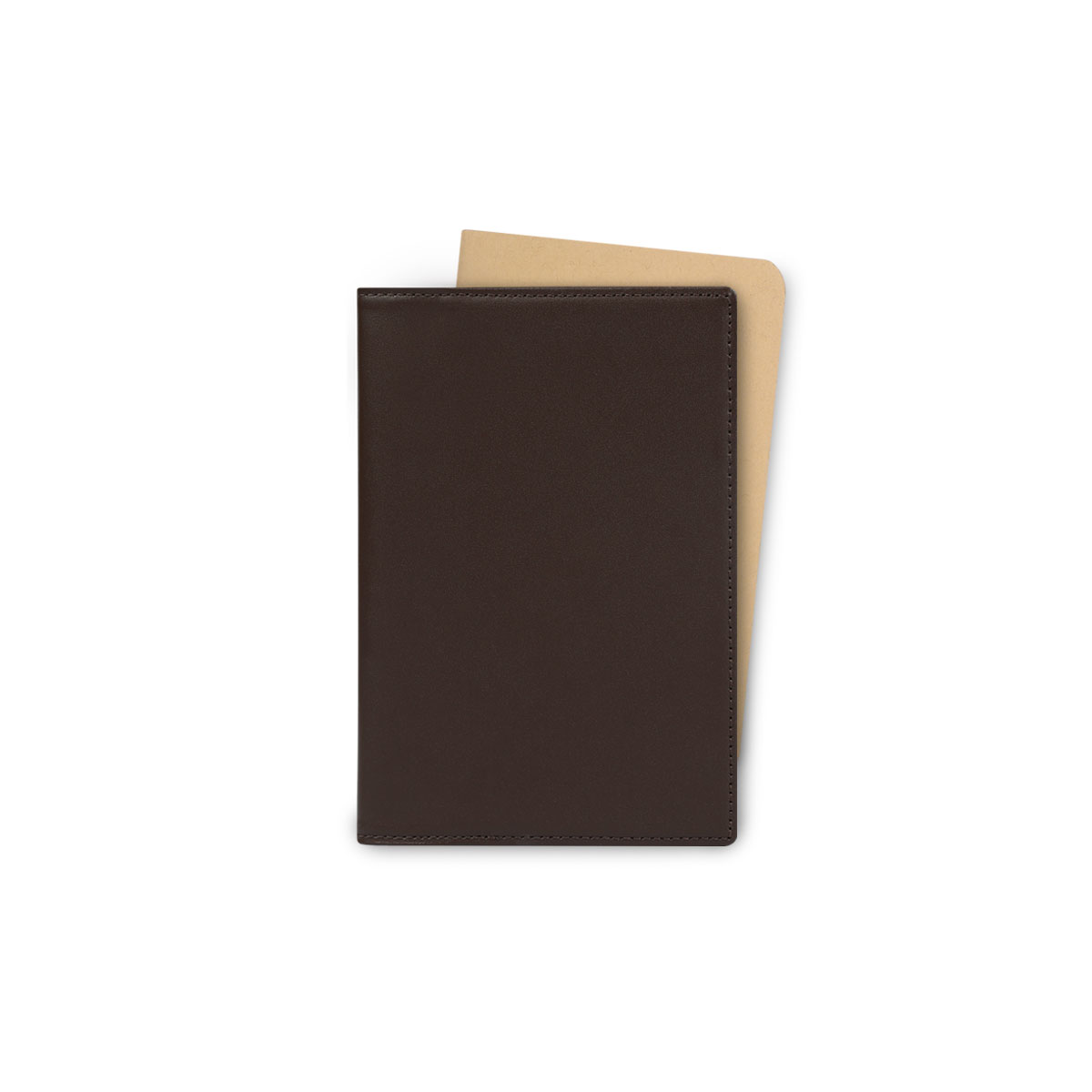 Note & Travel Cover Case Dark Brown